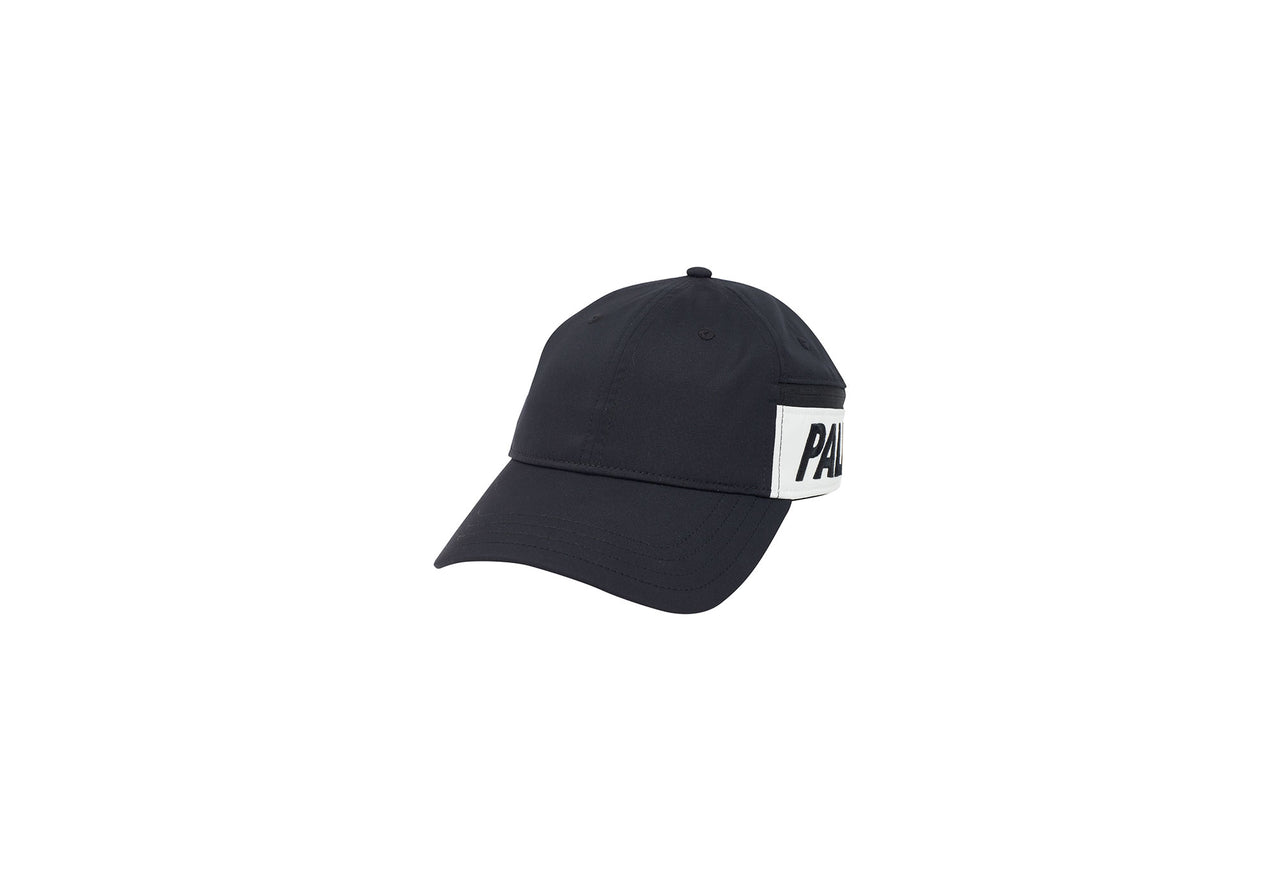 POCKET SHELL 6-PANEL BLACK