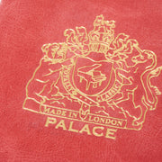 LEATHER PASSPORT CASE RED