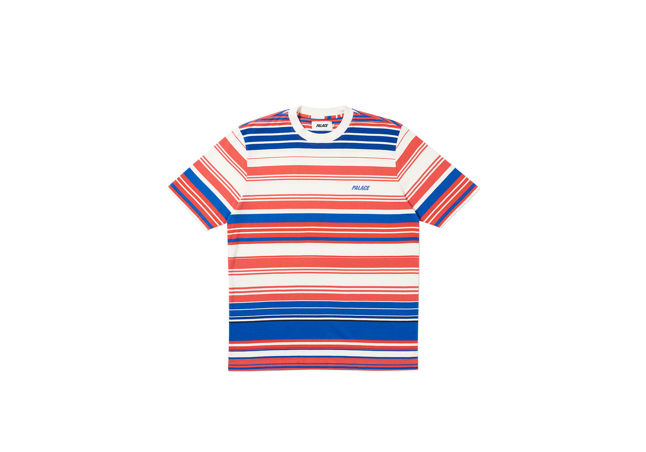 ULTI STRIPE T-SHIRT WHITE