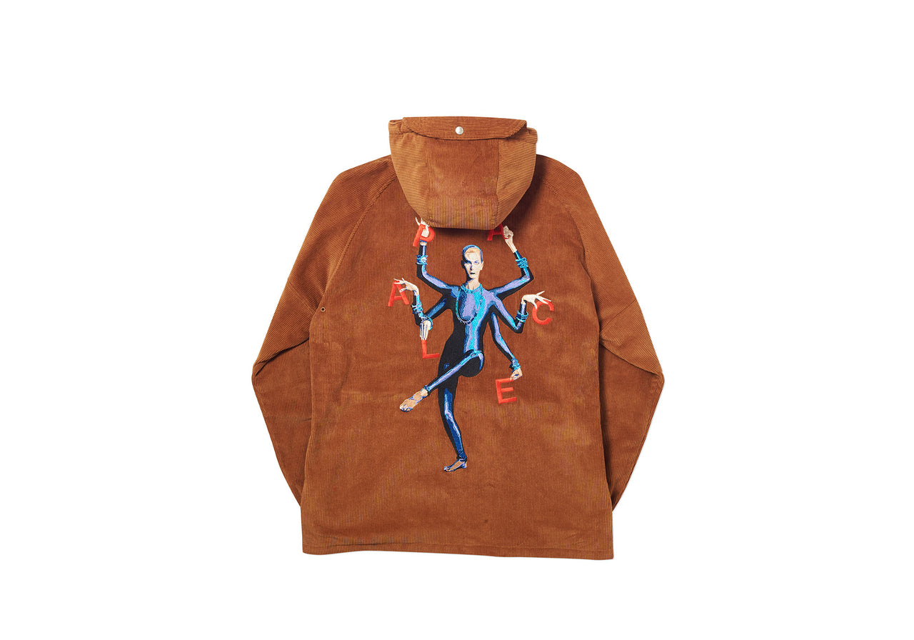 HANDY CORD JACKET BROWN