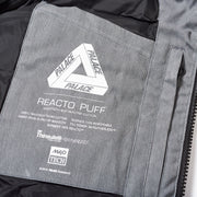 REACTO PUFF ZIP OFF JACKET BLACK