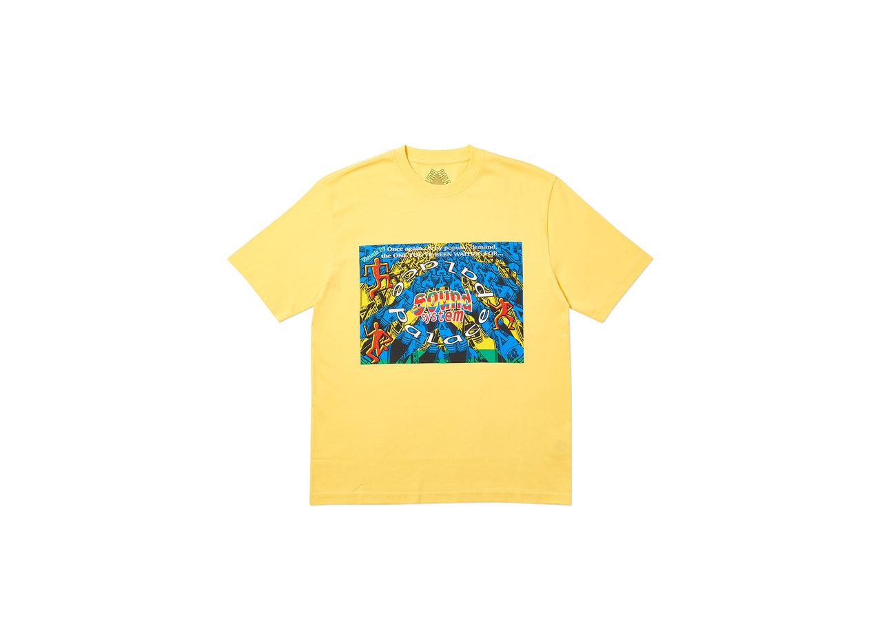 SOUND MATE T-SHIRT YELLOW
