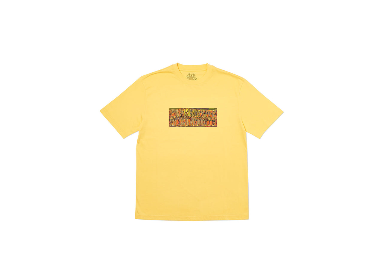 SUPER PALACE T-SHIRT YELLOW