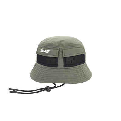 e985050a437 UTILITY SHELL BUCKET HAT OLIVE