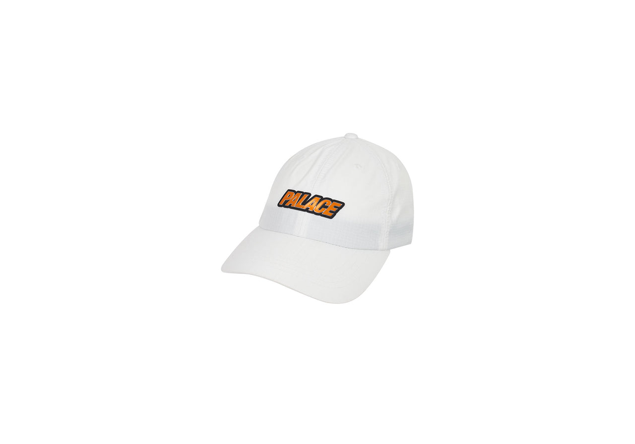 METAL SHELL 6-PANEL WHITE