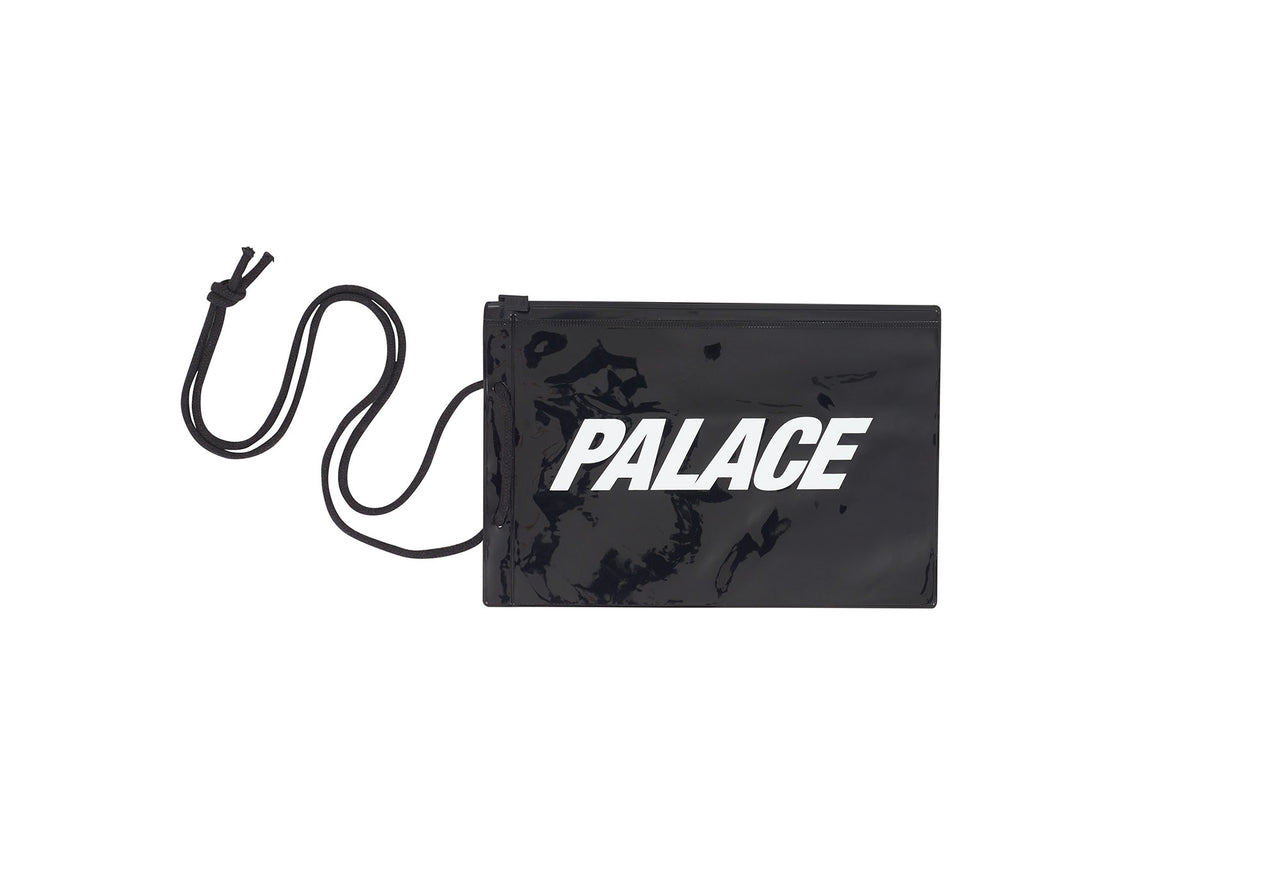PALACE POUCH BLACK / WHITE