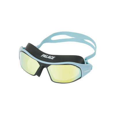 ADIDAS PALACE SUNPAL SWIMMING GOGGLES CLEAR BLUE