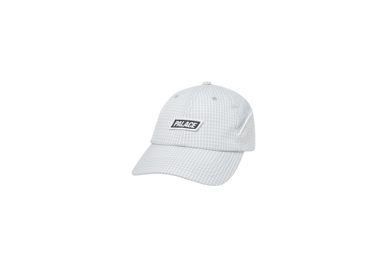 CHECK UP 6-PANEL GREY