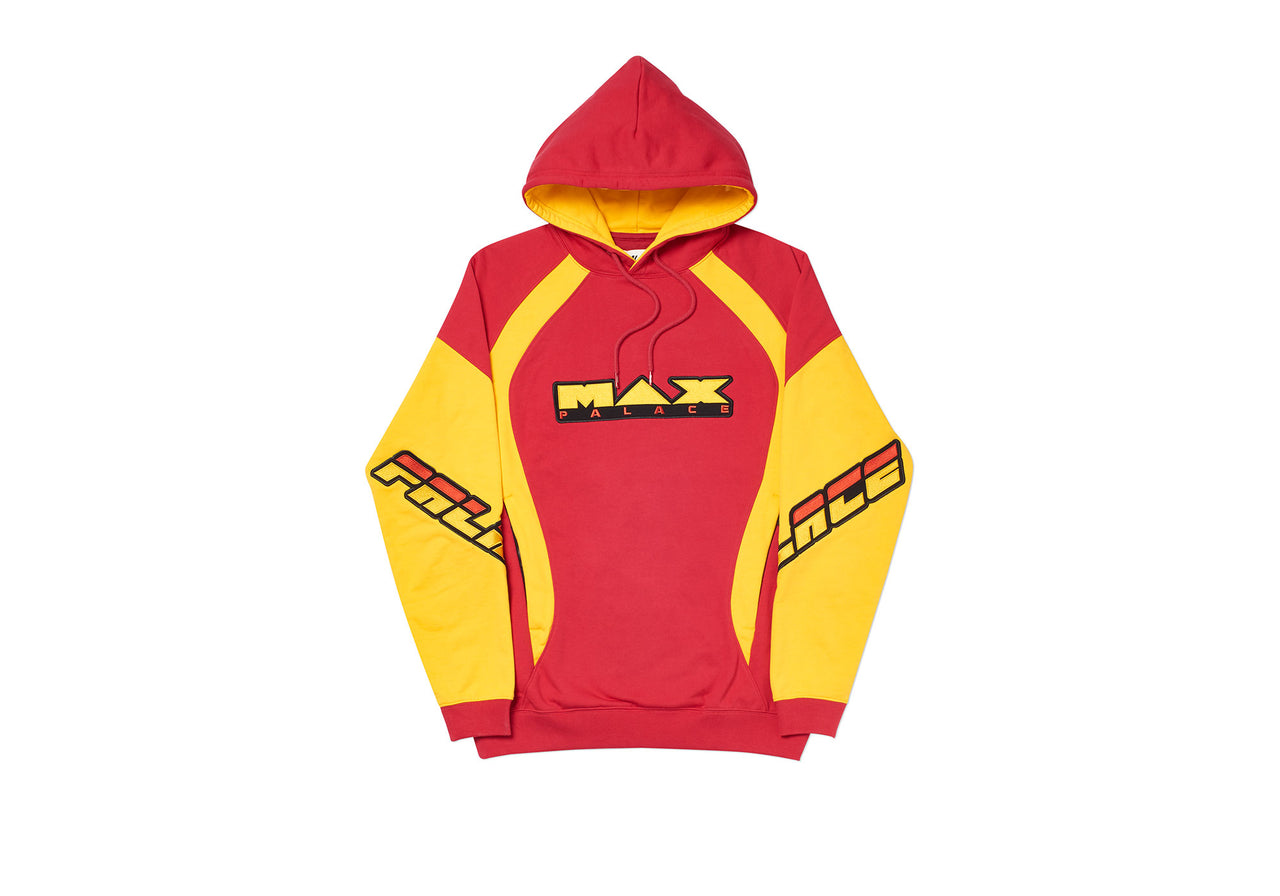 MAX P HOOD RED