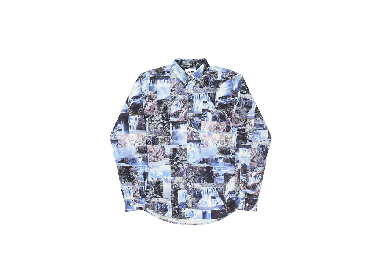 DAS WATER FALLS SHIRT BLUE