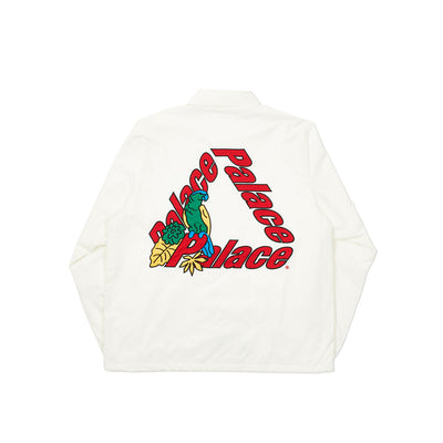 PARROT PALACE-3 COACH JACKET WHITE