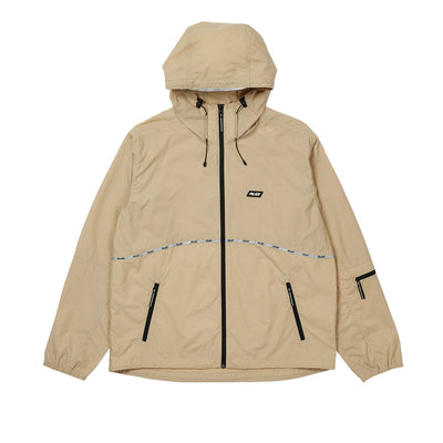 TYPO-WAVE JACKET TAN