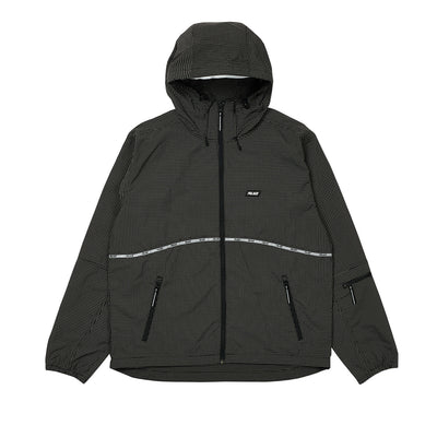 TYPO-WAVE JACKET BLACK