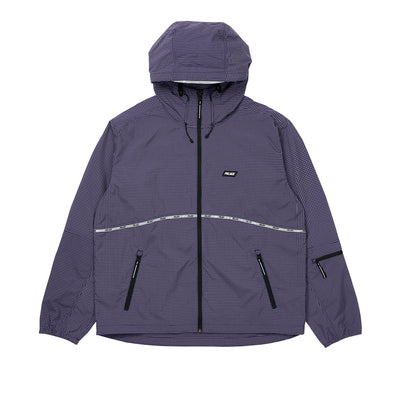 TYPO-WAVE JACKET BLUE