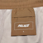 TYPO-WAVE SHELL JOGGERS TAN
