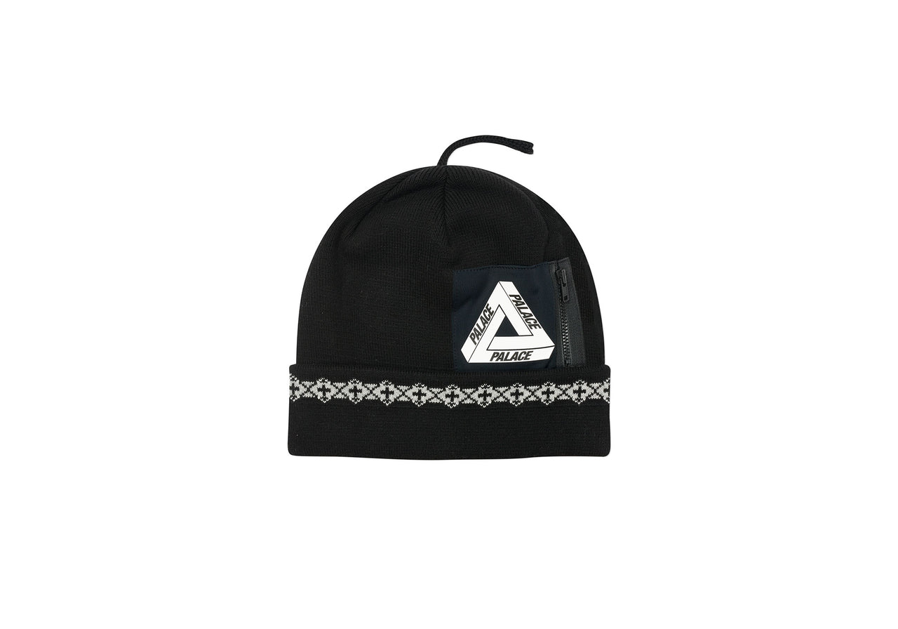 POCKET BEANIE BLACK