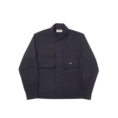 JUNGLE ZIP SHIRT BLACK