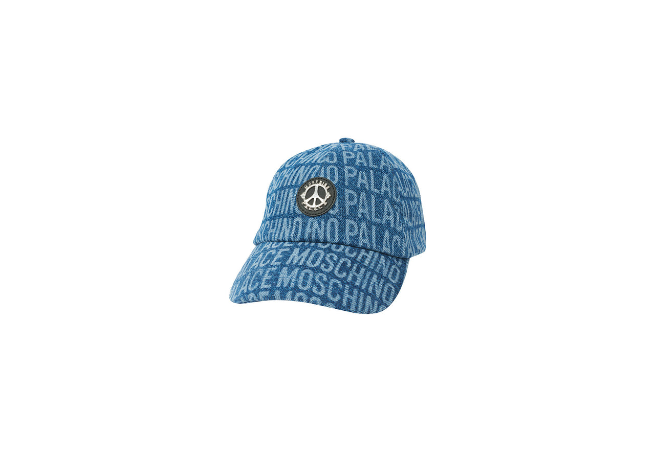 PALACE MOSCHINO CAP BLUE