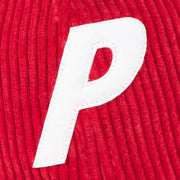 CORD PAL HAT RED
