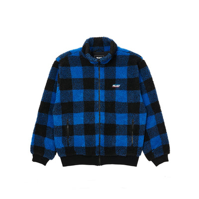 P-LUMBER JACKET BLUE / BLACK