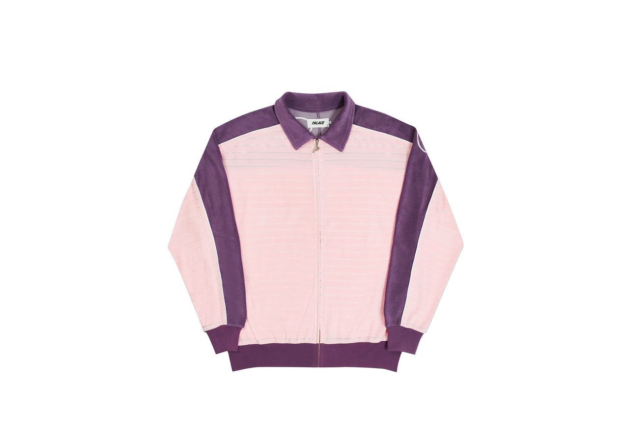 LONDON ZIP TOP PINK