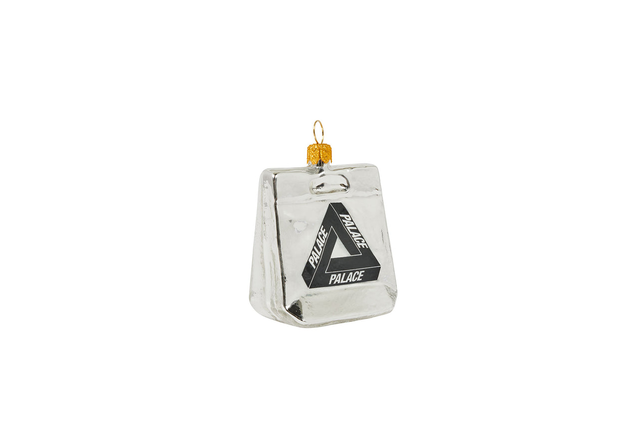 PALACE CARRIER BAG BAUBLE SILVER