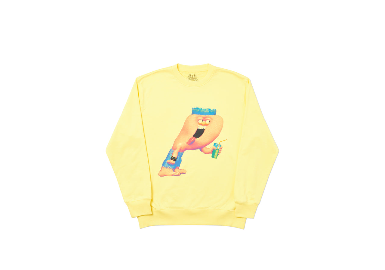 BURB CREW LIGHT YELLOW