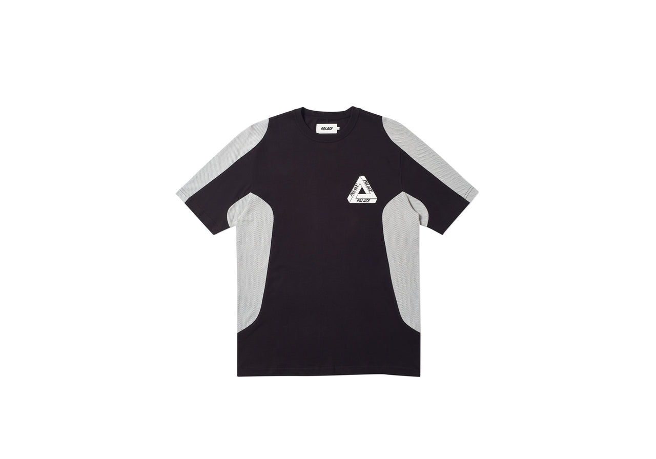 TEX T-SHIRT BLACK / GREY
