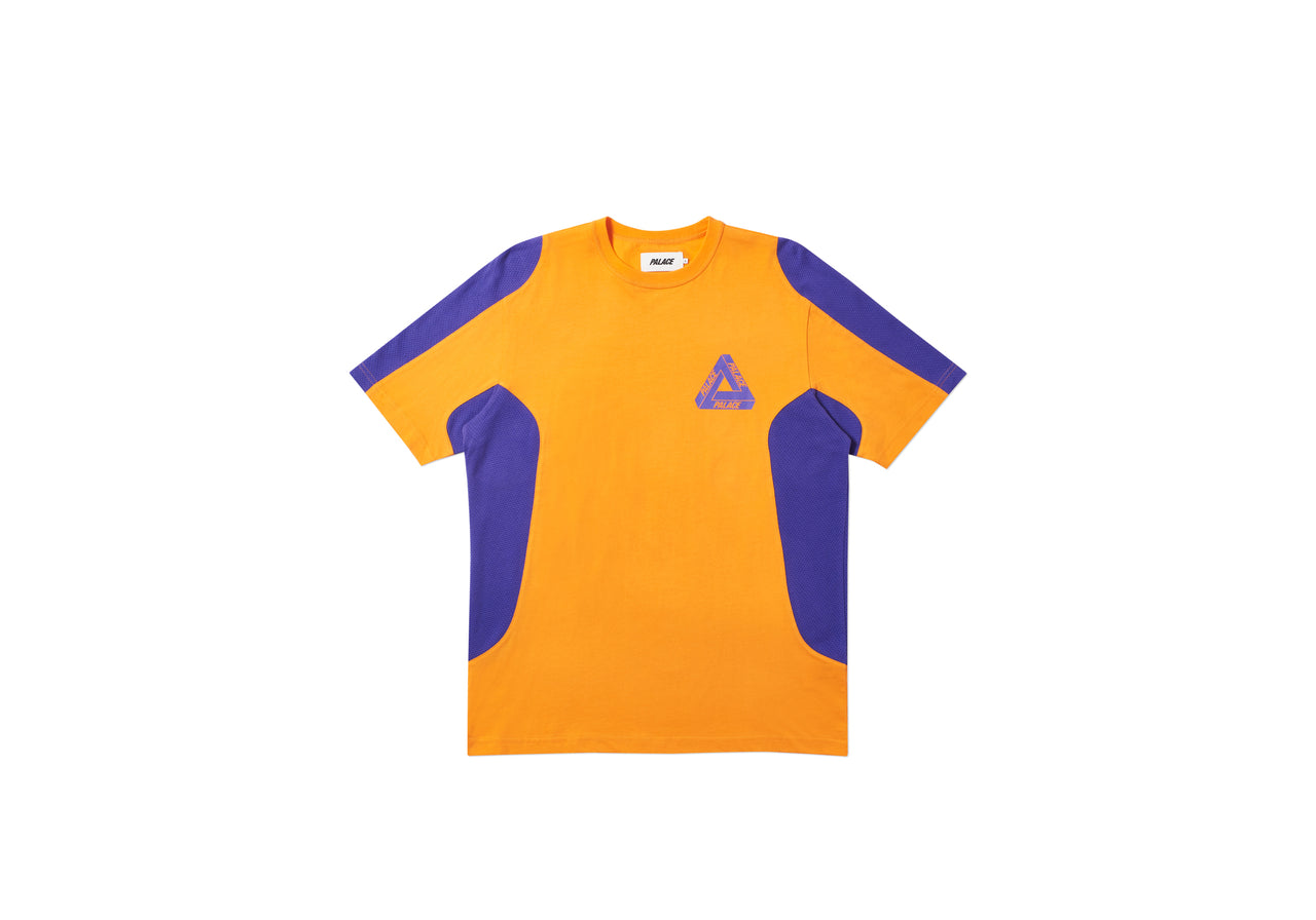 TEX T-SHIRT ORANGE / PURPLE