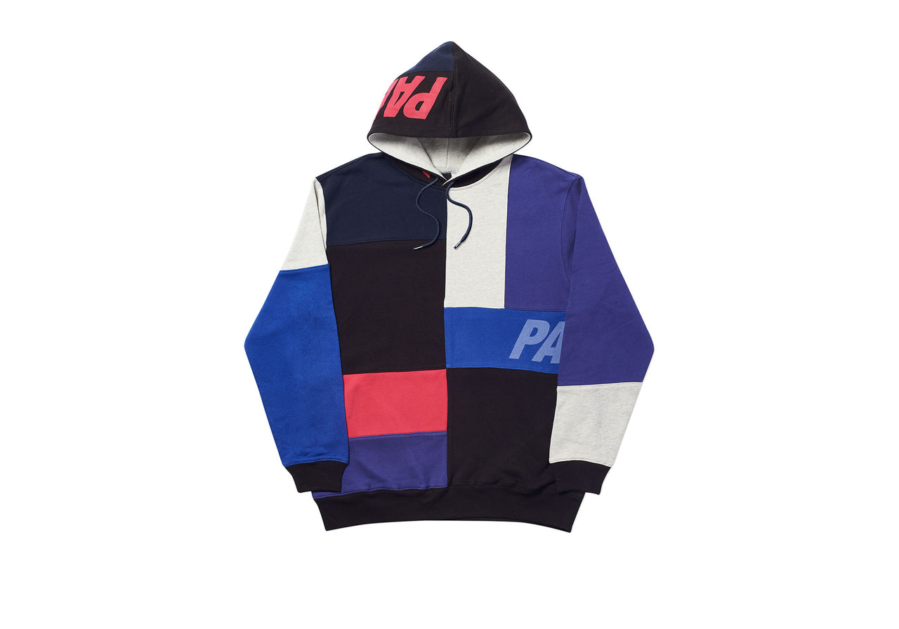 PATCH HOOD PURPLE MULTI