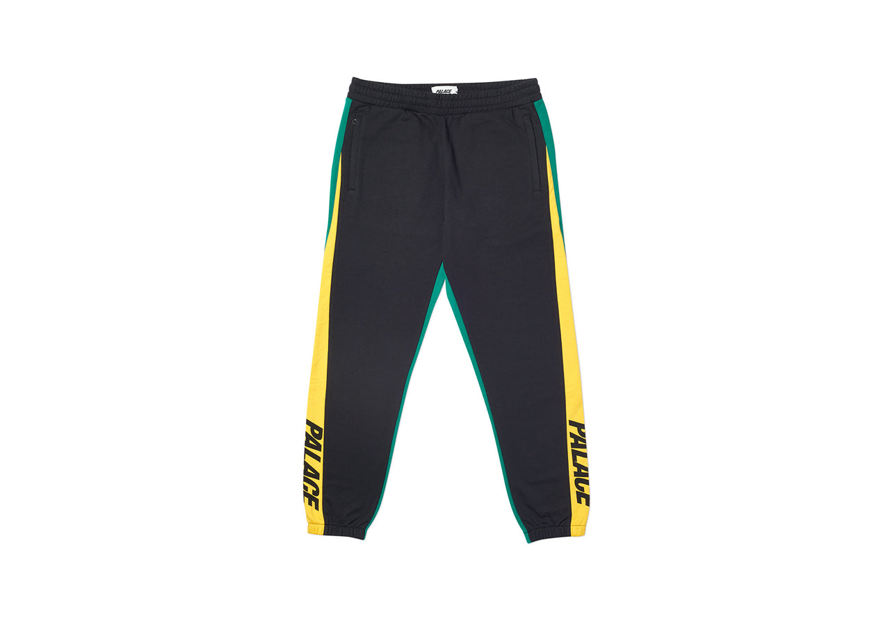 CATCH UP JOGGERS BLACK / YELLOW / GREEN