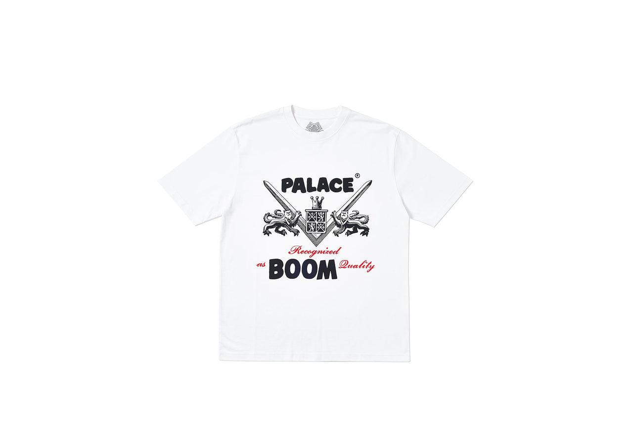 BOOM QUALITY T-SHIRT WHITE