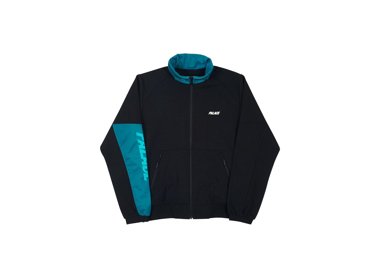 S-LAYER TRACK TOP BLACK