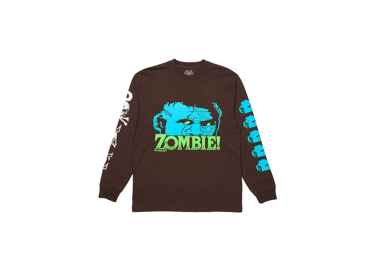 ZOMBIE LONGSLEEVE BROWN