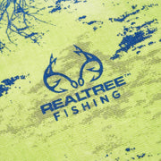 REAL TREE FISHING T-SHIRT GREEN