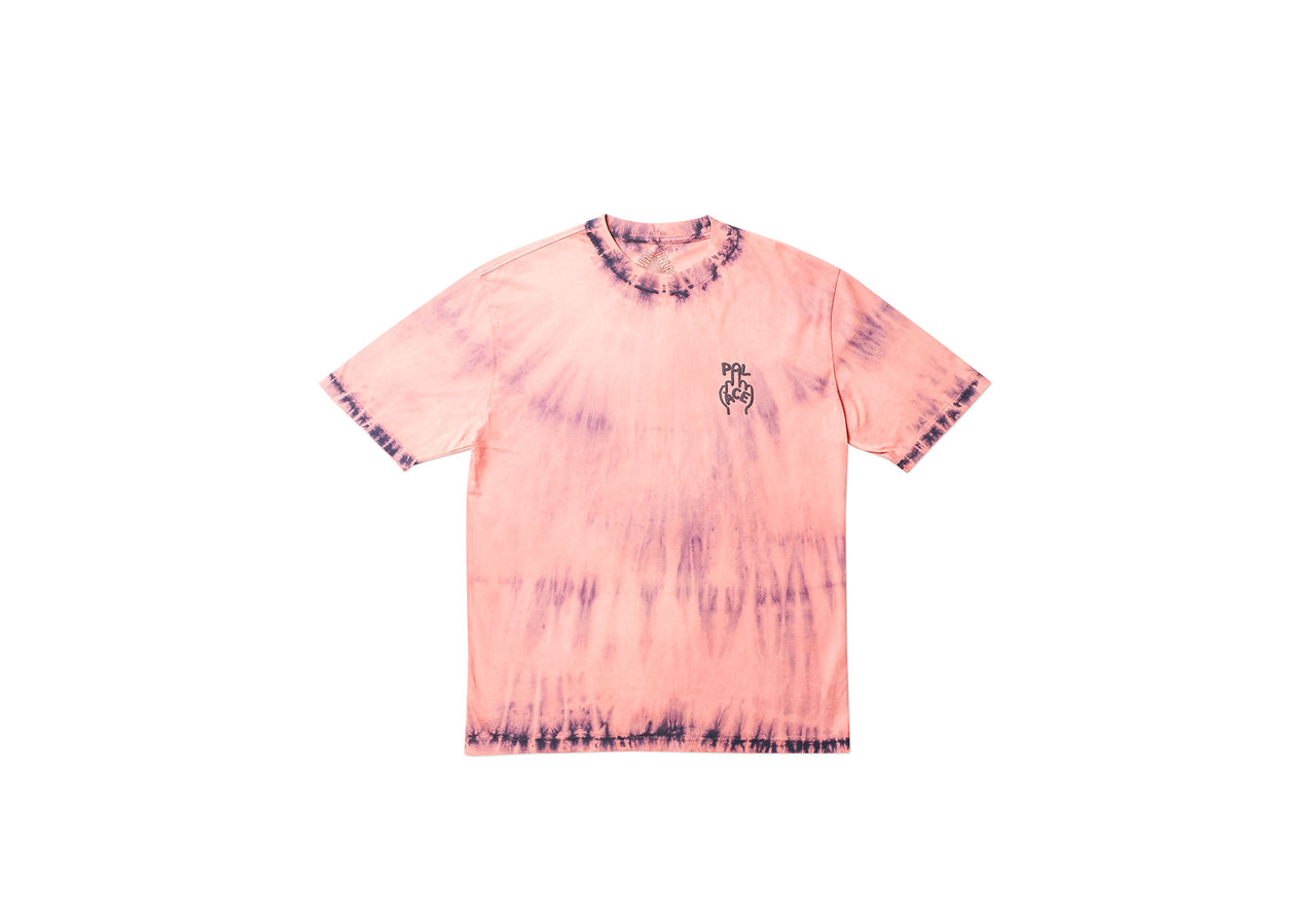FINGER UP T-SHIRT NAVY TIE DYE