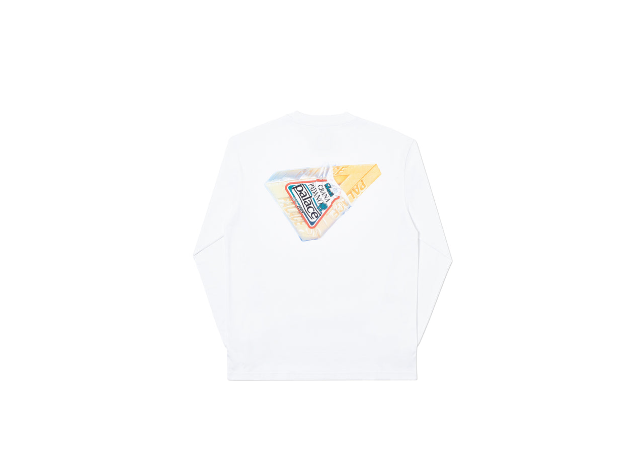 MESSI CHEEZUS LONGSLEEVE WHITE