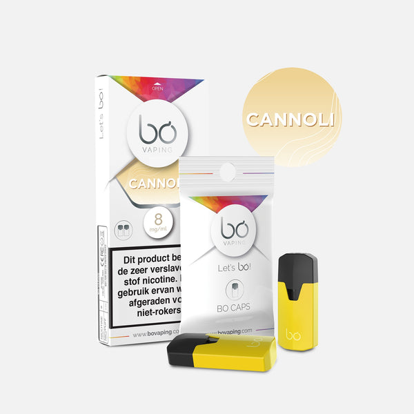 J WELL France BO Vaping BO Caps Cream Cannoli
