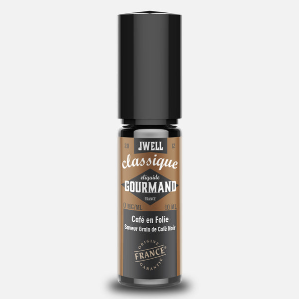 JWELL France e-liquid Gourmands Café en Folie