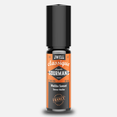 JWELL France e-liquid Gourmands Malibu Sunset