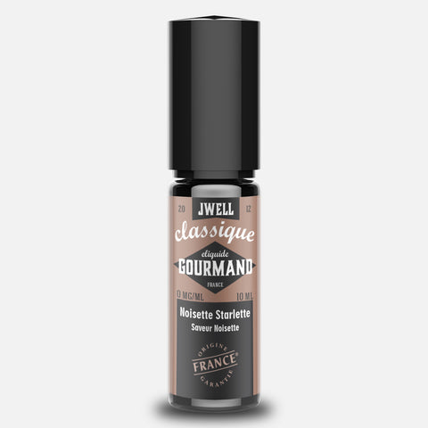 JWELL France e-liquid Gourmands Noisette Starlette