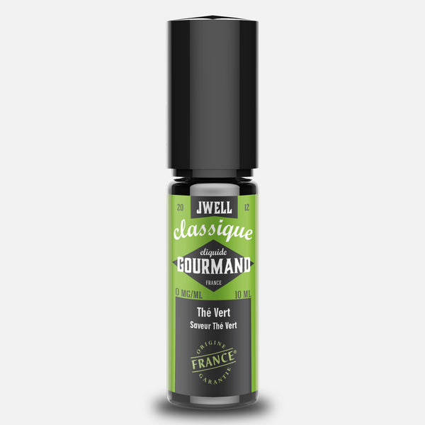 JWELL France e-liquid Gourmands Thé Vert