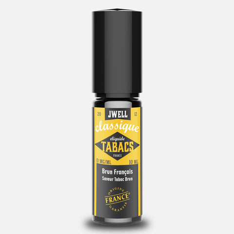 J WELL France e-liquid Tabac Brun Français