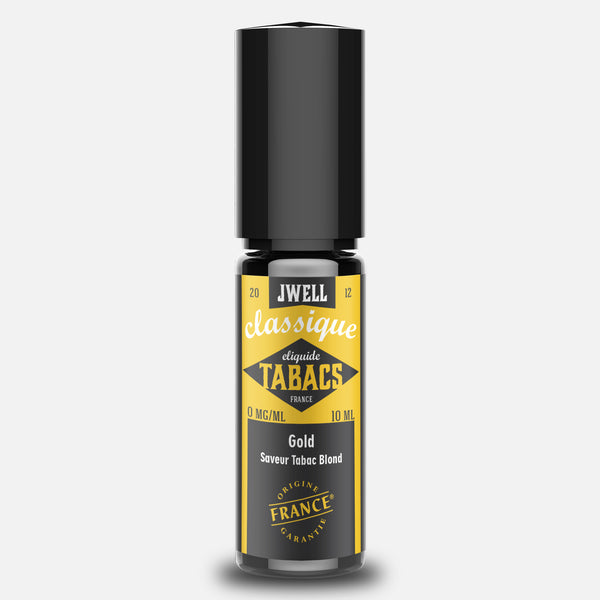 J WELL France e-liquid Tabac Gold