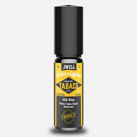 J WELL France e-liquid Tabac USA Mixx