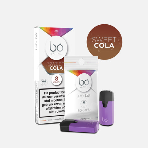 J WELL France BO Vaping BO Caps Sweet & Drink Sweet Cola