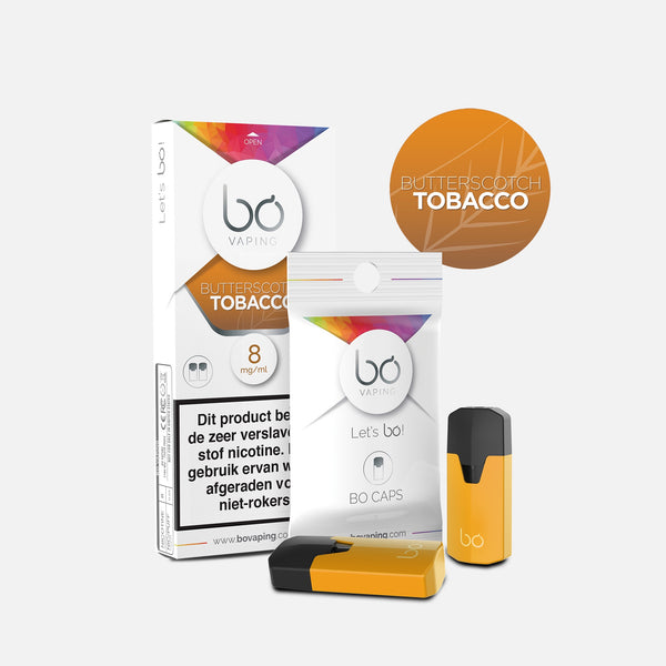 J WELL France BO Vaping BO Caps Tabak Butterscotch Tobacco