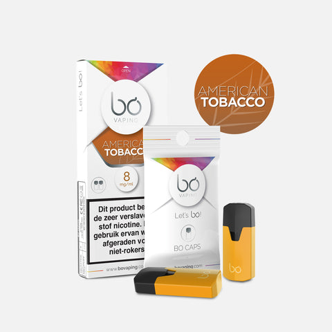 J WELL France BO Vaping BO Caps Tabak Blond Tobacco