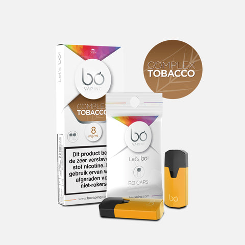 J WELL France BO Vaping BO Caps Tabak Complex Tobacco