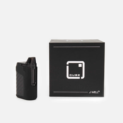J WELL France e-sigaret Le Cube Black